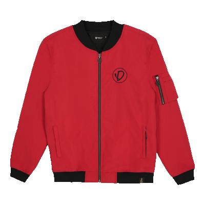 Bomber Jacket  Basic D Red
